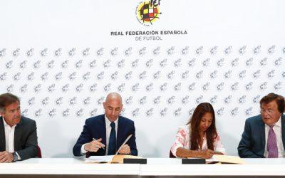La Real Federación Española de Fútbol y La Asociación Deporte Para la Igualdad firman un acuerdo de colaboración